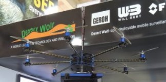 South African Firm Selling Pepper-Spray Bullet Firing Drones