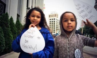 Against Ethnic Cleansing In Detroit: 'Water Is A Human Right'