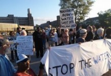 Detroit Residents Clash With Company Disconnecting Water
