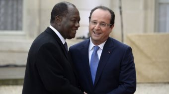 """French President Heads To Africa As Relations Turn """"Traditional"""""""