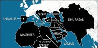 ISIS Release Map Showing Most Of Africa Under Arab Islamic Rule
