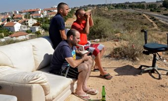 Israelis Gather On Hillsides To Watch And Cheer The Slaughter In Gaza