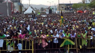 Over 20,000 Jamaicans Rally Against Homosexuality Agenda