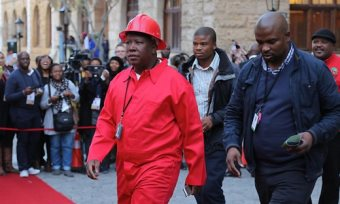 Malema Seeks Union Alliance To Combat ANC