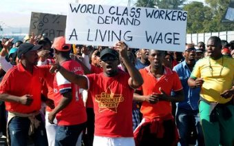 'Strikes May Be Start Of Worker Revolution' In South Africa