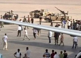 Libya: Rival Rebels Clash At Tripoli Airport