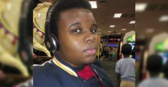 Mourners Gather For Funeral Of Michael Brown
