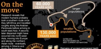Ancient Stones Hint At How Humans Migrated Out Of Africa