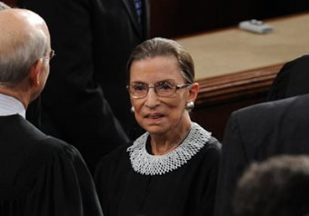 """Ruth Bader Ginsburg Speaks Out Against Supreme Court For Forsaking Fight Against """"Real Racial Problem"""""""