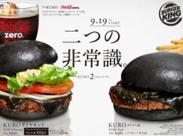 Burger King To Offer Black Burgers In japan