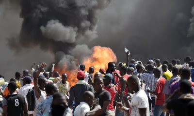 Burkina Faso: Protesters March On Presidency After Burning Parliament