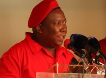 South African Students Absolutely Love With Julius Malema