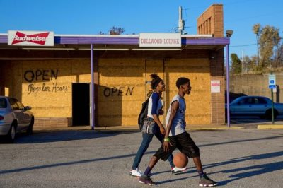 The Real Reason Ferguson Is Boarding Up Its Storefronts