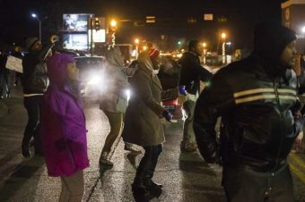 More Arrests In Ferguson As Residents Await The Conclusion Of The Grand Jury Charade