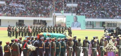 Zambia's Late President Michael Sata Laid To Rest
