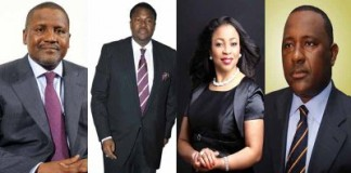 Nigerian Billionaires Dominate Africa Rich List