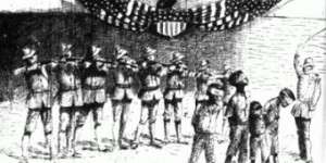 Philippines Massacre General Jacob H Smiths Infamous Order Kill Everyone Over Ten was the caption in the New York Journal cartoon on May 5 1902