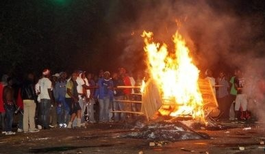More Riots Erupt In Zambia Against Illegal White President