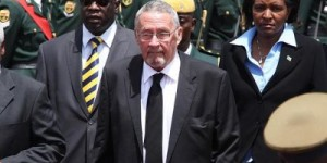 Zambia Protest Against White President (2)