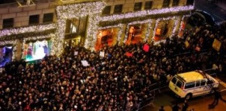 Thousands Of New Yorkers Protest Eric Garner Grand Jury Decision