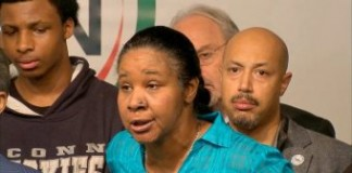 Eric Garner's Wife Lashes Out At Cop Who Strangled Her Husband