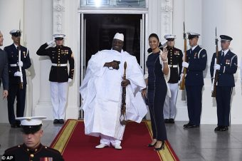 Gambia President Jammeh Blames Foreign Forces For Attack On Capital
