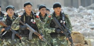 Chinese Combat Troops Start Deployment In South Sudan
