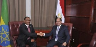Egyptian Dictator Goes To Addis Ababa
