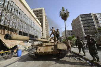 Rival Rebel Faction Seizes Benghazi Branch Of Libyan Central Bank