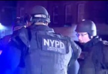 Manhunt Under Way For Suspects Who Allegedly Wounded 2 NYPD Officers