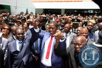Heroes Welcome For Robert Mugabe In Zambia