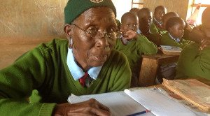 World's Oldest Student: Kenyan Grandmother At School With Her Great-Great-Grandchildren