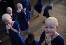 Africa's 'Albino Island'