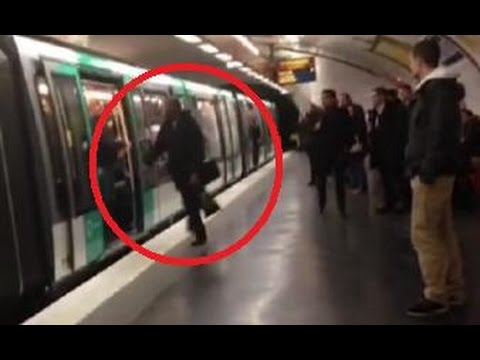 Racist Savages Attack Black Man In Paris