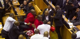 EFF MPs Beaten Up In Parliament: Malema