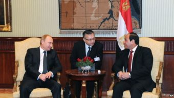 Egypt, Russia Sign Military, Economic and Nuclear Deals