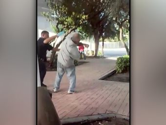 Watch: Cop Slaps Homeless Man In The Face For Entering Public Bus Terminal