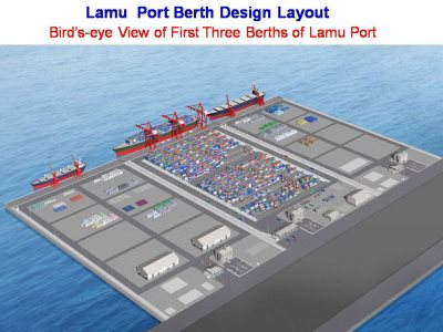 Work On Kenya's $3.3bn Lamu Port To Start In March