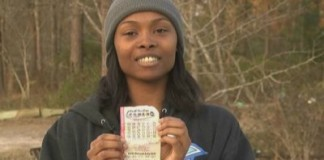 WATCH: 26-Year-Old Single Mother Of Four Wins PowerBall