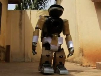 This Computer Genius From Togo Built His First Robot At 7