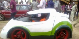 Nigerian University Unveils 'Environmentally Friendly' Car