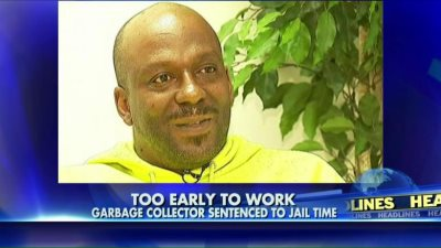 War On Black Men: Garbage Man Jailed For 30 Days For Coming To Work Too EARLY