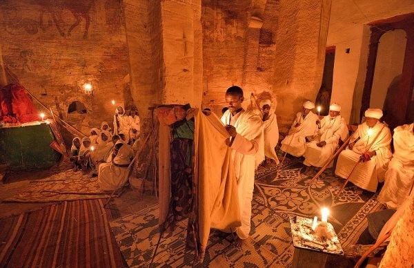 The Awe-Inspiring Cave Churches Of Ethiopia