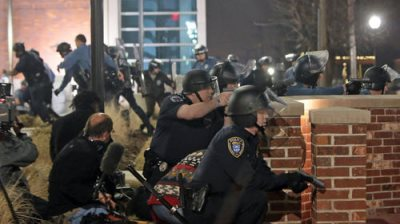 Two Police Officers Shot Outside Ferguson Police Department