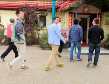 Kenyans Loot And Burn Chinese Restaurant That Does Not Allow Africans