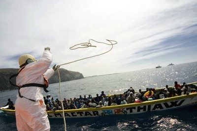 Europe's Border Policy Designed To Push Refugees Into The Sea