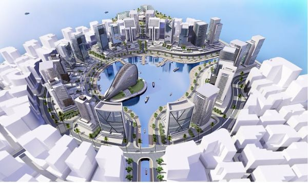 Two Years After Ground Breaking, Nigeria's $6bn Eko Atlantic City Is Gradually Taking Shape