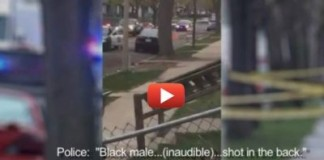 Video Surfaces Showing Moments After Police Shot 15-Year-Old Boy In The Back