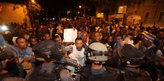 Ethiopian Israelis Protests Against Police Beating And Racism