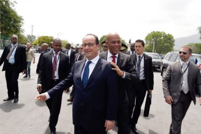 Reparations Issue Clouds Hollande's Haiti Trip